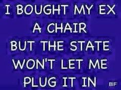 And I even offered to pay for the electricity!!