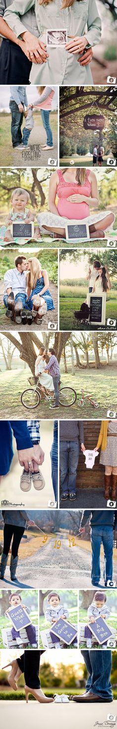 Idées de photos pour annoncer sa grossesse
