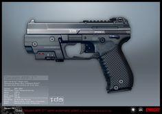 SYNDICATE concept - APP pistol by *torvenius on deviantART