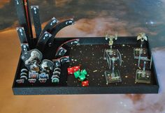 Star Wars XWing Tournament tray/army tray or dice by DecorByTamzin