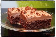 Schneller Kefir-Kuchen mit Saure-Sahne-Schokocreme