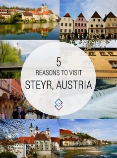 Steyr, Austria is a hidden gem - beautiful buildings, quaint coffee shops, and tons of walking paths are just a few things that make Steyr charming.