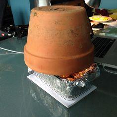 Tea Light Personal Space Heater :: Hometalk