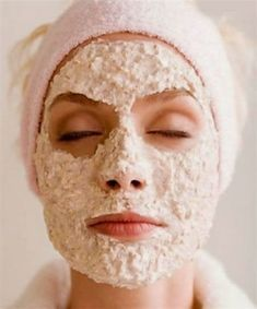 Oatmeal Face Mask: One of the best remedies for Acne.- Oatmeal Face Mask: One of the best remedies for Acne. Oatmeal Face Mask: One of the best remedies for Acne. Homemade Facial Mask, Homemade Facials, Homemade Beauty, Homemade Mascara, Homemade Masks, Honey Face Mask, Diy Face Mask, Honey Facial, Beauty Secrets