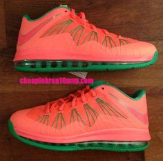 Lebron 10 Low Watermelon Cheap Lebron James Shoes