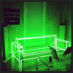 Product Demo Room- Neon furniture curated by Becore!