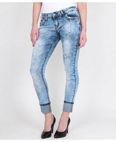 KRISP Gem Turn Up Leg Jeans - KRISP from Krisp Clothing UK