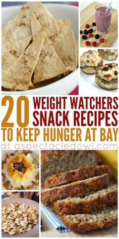 20 Weight Watchers Snacks To Keep Hunger at Bay A Spectacled Owl : For me, snacks are a huge part of losing weight. When I am trying to lose weight and I don't eat enough healthy tasty snacks, I usually end up throwing in the towel and just eating everyt Weight Watchers Snacks, Weight Loss Meals, Healthy Weight Loss, Losing Weight, Weight Watchers Program, Weigh Watchers, High Protein Snacks, Yummy Healthy Snacks, Healthy Eating