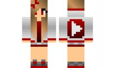 minecraft skin Youtube-Girl Check out our YouTube : https://www.youtube.com/user/sexypurpleunicorn
