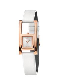 orologio unexpected oro rosa cinturino pelle calvin klein watches