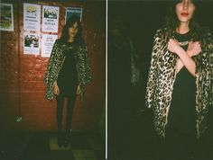 Alexa Chung at Cave Club, April 2014 FROCK & ROLL Codeine Issue Launch with Dark Bells