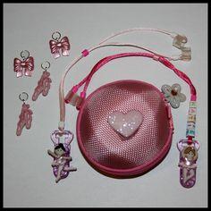 Ballerina children's hearing loss package, personalised.