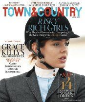 Town And Country Magazine Charlotte Casiraghi Rich Kids With Their Horses 2012