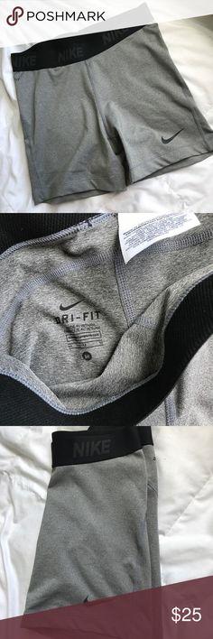 Gray Nike Shorts Gray Nike dry fit shorts Nike Shorts