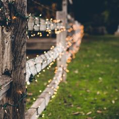 Barn Dance - Texas photography, texas art, rustic décor, country home, rural living,. Party lights on a simple, rustic fence make for a charming scene outside of Boerne, Texas.