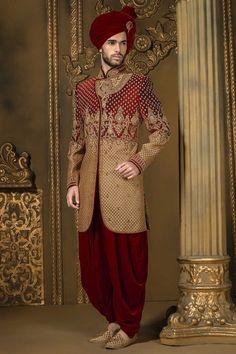 Mens Sherwani - Nihal Fashions #MensFashionIndian