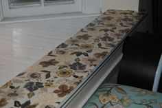 Mod Podge Your Cottage: Window Sills Accented WithFabric