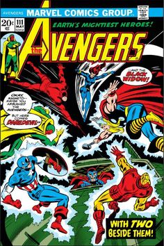 The Avengers #111 - With Two Beside Them