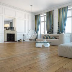 Chic and simple. Havwoods flooring