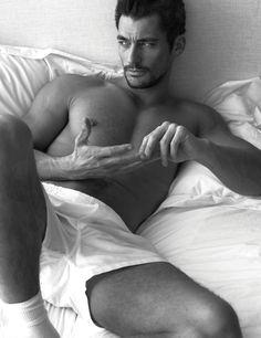 w magazine photos 0006 Joe Manganiello, Pharrell, David Gandy + More Go Shirtless in Bed for W Magazine