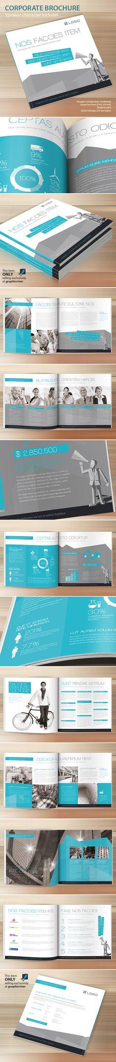 Corporate Brochure by Paulnomade Paulnomade, via Behance