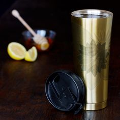 $9.99 for Floral Stainless Steel Tumbler, 12 fl oz @ Starbucks Store - Hot Deals