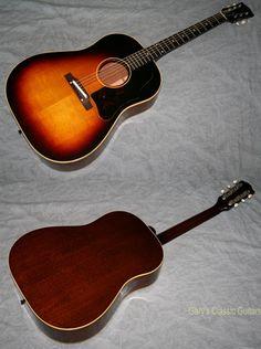 1960 Gibson J-45 (#GIA0607) Tobacco Sunburst, Excellent, Original Soft, $5,995.00 (via Gbase.com)