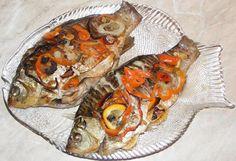 Romanian Food, Baked Fish, Baking, Recipes, Oven Baked Fish, Bakken, Rezepte, Bread, Backen