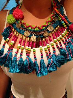 collar boho chic accesorios hippie