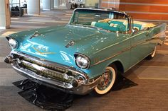 1957 Chevy Bel Air, Chevrolet Bel Air, Convertible, Old Fashioned Cars, Old Vintage Cars, Roadster, Pretty Cars, Classy Cars, Old Classic Cars