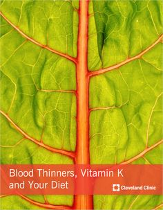 low vitamin k diet pdf