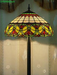Baroque Tiffany Lamp16S6-35F5