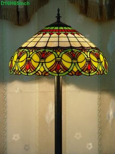 Baroque Tiffany Lamp	16S6-35F5