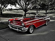 My dream car! 57 Chevy convertible. Beautiful!