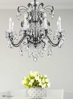 Lighting by pecaso pagoda chandelier in polished chrome 19l x 20 the esprit chandelier by pecaso is an elegant touch for your lighting needs its classical mozeypictures Image collections