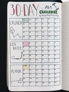 An epic list of workout trackers to try for your bullet journal! Pick your poison and keep track of your torture sessions in style. Checkmarks here we come! #Keepingmotivatedforfitness