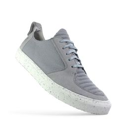 588dc194f7bf ekn footwear - argan low   grau vegan   weiße sohle   Avocadostore