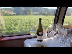 Dinner on the Napa Valley Wine Train - Kris and I had lunch taking the recommended pairings with each course. It was a fun day!