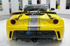 Lotus Evora GTE Sport Auto angezeigt, auf der 64th Internationale Automobil Ausstellung (IAA) am 17. September 2011 in Frankfurt am Main, Deutschland. Stockfoto - 10592504