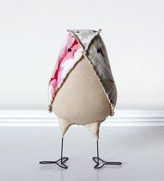 Fabric Bird by A Sweet Reverie