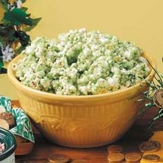 St. Patrick's Day Popcorn Recipe from Taste of Home -- shared by Karen Weber of Salem, Missouri