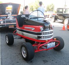 bumper car inspired by old hot rods