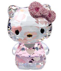 New Hello Kitty x Swarovski Ornament Limited Edition 2012 Figure Figurine Sanrio | eBay