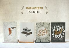wit and whistle adorable halloween cards