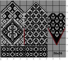 mittens wanten a. Knitted Mittens Pattern, Knitting Paterns, Knit Mittens, Knitting Charts, Knitted Gloves, Knitting Designs, Knitting Stitches, Hand Knitting, Crochet Chart