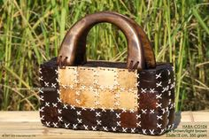 HABA-CO104 wholesale coconut handbag; manufacturer Thailand, exporter