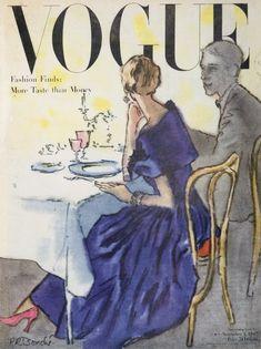 Vogue November 1947, Rene Bouche