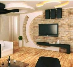 Elegant wall decor for living room modern wall unit designs wall design enchanting modern living room wall units and best wall modern wall unit designs Wall Unit Designs, Tv Wall Design, House Design, Design Art, Gypsum Board Design, Interior Design Living Room, Living Room Designs, Room Interior, Interior Paint
