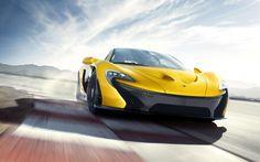 ❦ McLaren P1 supercar