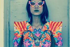 Childhood Perler Beads Get A High Fashion Makeover